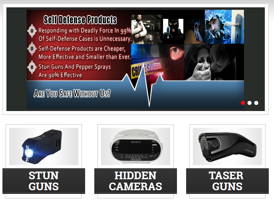 stun guns & personal defense equipment online